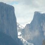 El Cap, Half Dome