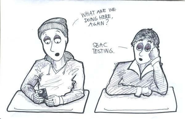 Cartoon by Rachel Du